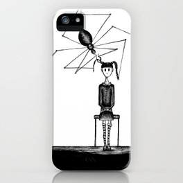 Miss Spider's Salon iPhone Case