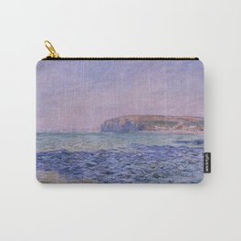 Claude Monet - Shadows on the Sea - Cliffs at Pourville Carry-All Pouch