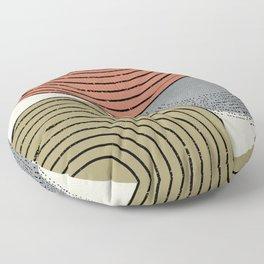 Retro Minimalist Design Floor Pillow