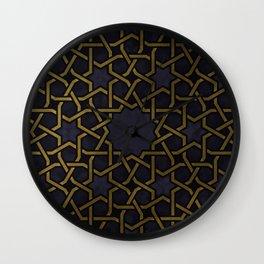 Islamic Ornaments Wall Clock