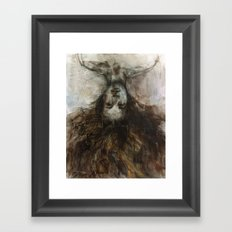 Unruly Ambience Framed Art Print