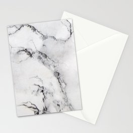 Modern Gloss Marble Polished Surface Stationery Cards