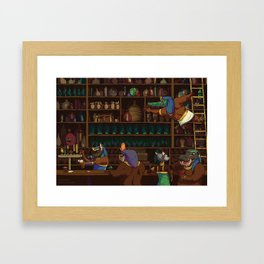 The Canopic Jar Framed Art Print