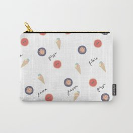 Pizza, Pasta, Gelata. Carry-All Pouch