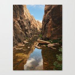 East Clear Creek Hike Canvas Print