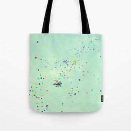 Sky dots Tote Bag