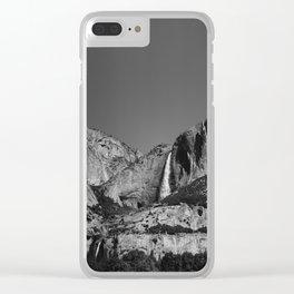 Yosemite Falls VIII Clear iPhone Case