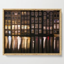 Amsterdam houses 2. Serving Tray