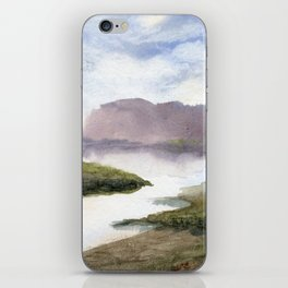 Water and Colour iPhone Skin