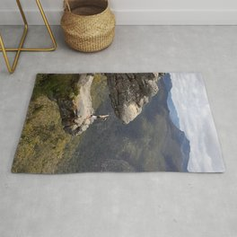 HAND STAND IN THE GRAMPIANS AUSTRALIA Rug