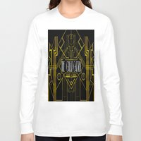 great gatsby Long Sleeve T-shirts featuring The Great Gatsby by Ronoh Designs