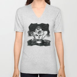 The Catcher: An Enigmatic Two Unisex V-Neck
