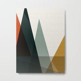 Geometric nature I Metal Print