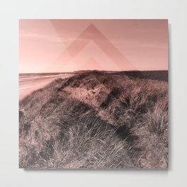 Tales of Wonder, Chevron Pattern, Sand Dunes Metal Print