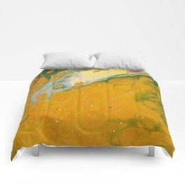 I love mustard Comforters