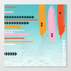 Tribal Feather  Canvas Print