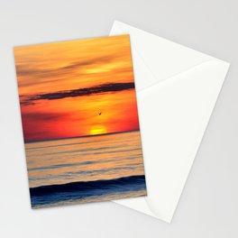 Henne Strand Sunset Stationery Cards