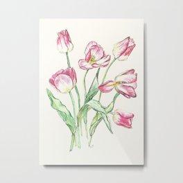 Triumph Tulips Metal Print