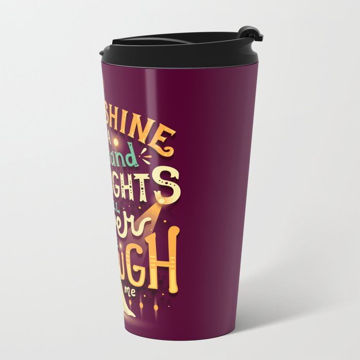Never Enough Metal Travel Mug