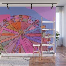 Ferris wheel Wall Mural