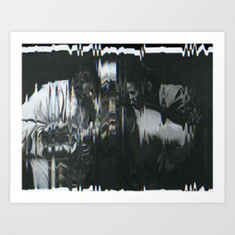 The Incredulity of Saint Thomas Art Print