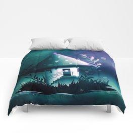 Magic Mush Room Comforters