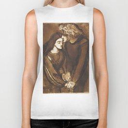 Two Lovers by Dante Gabriel Rossetti, 1850 Biker Tank