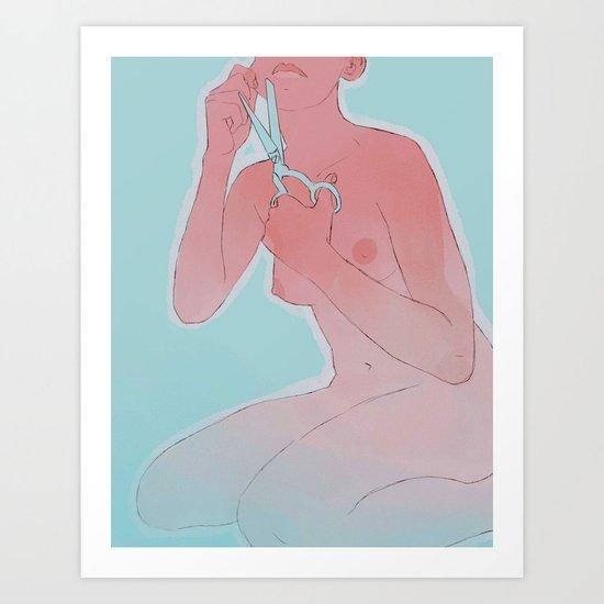 talkshowhost Art Print