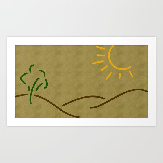 The Beauty of Lines Part I Art Print