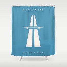 Kraftwerk Autobahn Shower Curtain