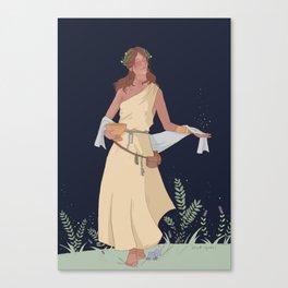 circe - greek mythology Canvas Print