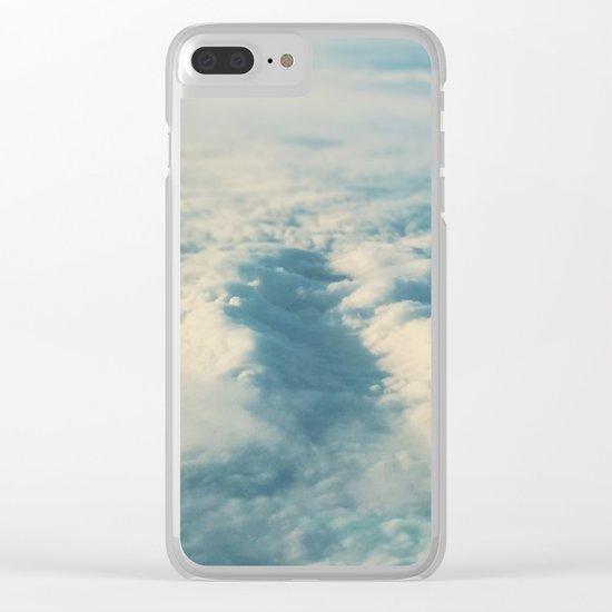 Cloud Sea Clear iPhone Case
