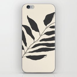 breezy palm iPhone Skin