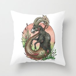 Star Sign - Capricorn Throw Pillow