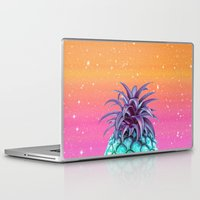 pineapple Laptop & iPad Skins featuring Pineapple by Danny Ivan