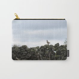 Partridge on a Wall Carry-All Pouch