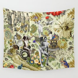 The Muse is Here Wall Tapestry