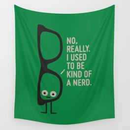 Nerd Is the New Black Wall Tapestry