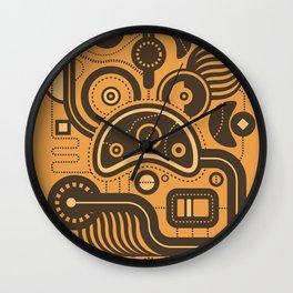 Nonsensical Doodle #3 Wall Clock