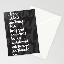It's All You! Stationery Cards