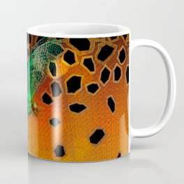 May Fly & Gold Trout Camo Coffee Mug