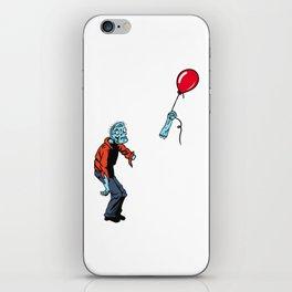 Help I Lost my Balloon! iPhone Skin