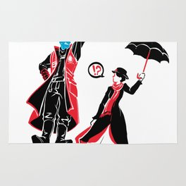 I'm Marry Poppins y'all! Rug