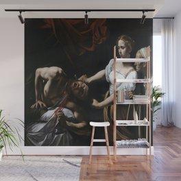 Caravaggio's Judith Beheading Holofernes Wall Mural