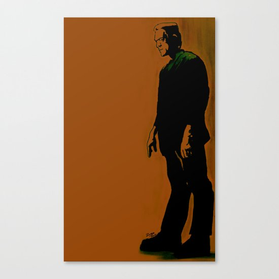 The Monster Is Loose! Canvas Print