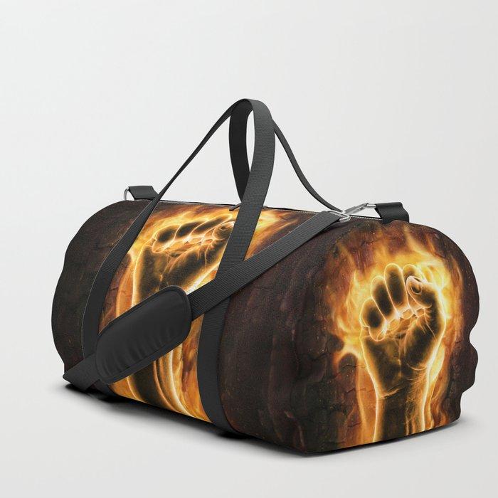 Fire fist Duffle Bag