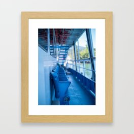 Montana Ferry Framed Art Print
