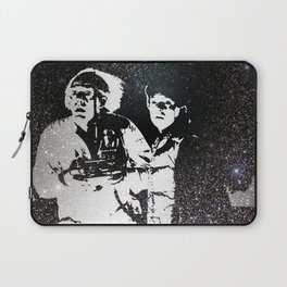 Roads? Where we're going, we don't need roads Laptop Sleeve