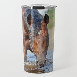 horse collection. swimm Travel Mug