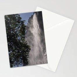 300 Meters Waterfall. Lauterbrunnen Waterfall. Alps. Switzerland. Stationery Cards